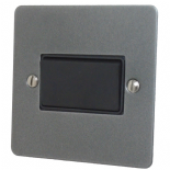 Flat Plate Pewter Fan Isolator Switches